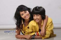 Tanvi Lonkar and Master Kishen in Kannada Movie Teenage