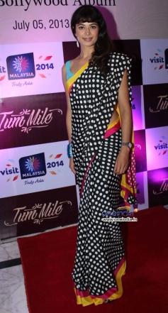 Pooja Batra at Launch of Indo-Malaysian music album Tum Mile