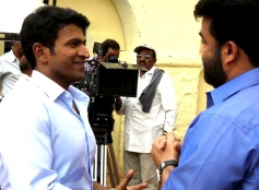 Puneet Rajkumar, Mohanlal in Kannada Film Mythri