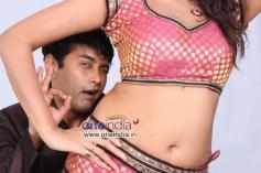 Sharan and Asmita Sood in Kannada Movie Victory