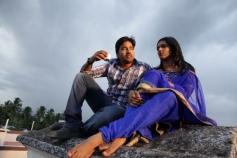 Shiva and Vasundhara still from Sonna Puriyadhu