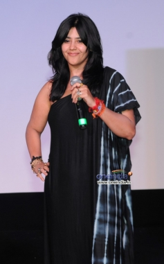 Ekta Kapoor at Trailer launch of film Once Upon a Time in Mumbai Dobaara