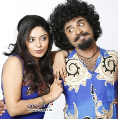 Bhavana Rao and Vasu Dixit in Kannada Movie Money Honey Shani