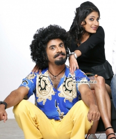 Vasu Dixit and Kanchan in Kannada Movie Money Honey Shani