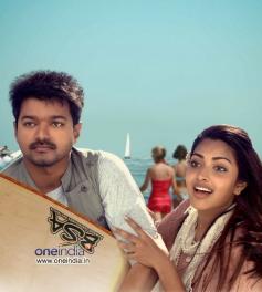 Vijay and Amala Paul in Tamil Movie Thalaivaa