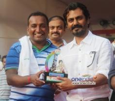 Actor Nawazuddin Siddiqui at Sanjay Nirupam's Dahi Handi Celebration
