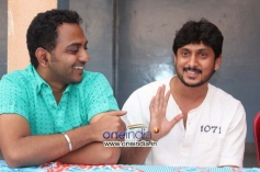 Ajay Rao at Kannada Film Rose Press Meet