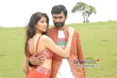 Akila Kishor and Yogesh in Kannada Movie Kaala Bhairava