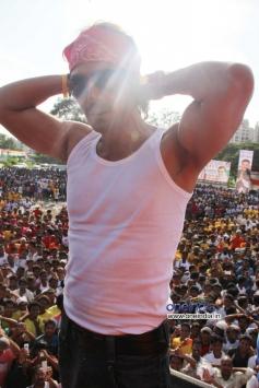 Arjun Rampal at MP Sanjay Nirupam's Dahi Handi Celebration