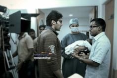 Arya and Anushka Shetty in Tamil Movie Irandam Ulagam