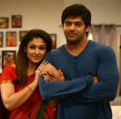 Arya and Nayantara stills from Tamil Movie  Raja Rani