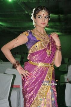 Asmitha Sood at Aadu Magaadra Bujji Movie Logo Launch Event