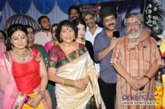 Pooja Gandhi, Jayanthi, Ravichandran at Kannada Movie Abhinetri Muhurat