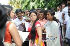 Pooja Gandhi at Kannada Movie Abhinetri Muhurat
