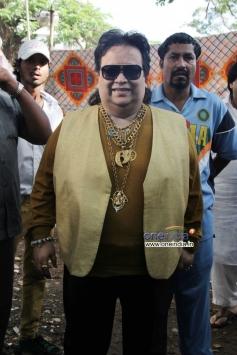 Bappi lahiri at Sanjay Nirupam's Dahi Handi Celebration