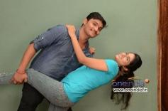 Bhavani Shankar and Jayanthi in Telugu Movie Okkasari Premisthe