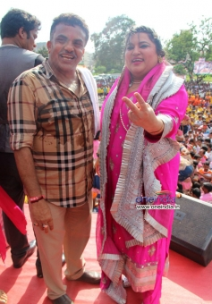 Dolly Bindra present at MP Sanjay Nirupam's Dahi Handi Celebration