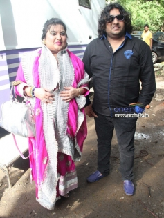Dolly Bindra at Sanjay Nirupam's Dahi Handi Celebration