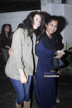 Kalki Koechlin and Gauri Shinde at Special Screening of The Lunchbox