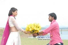 Kavya Shetty and Mahesh in Kannada Movie I am in Love