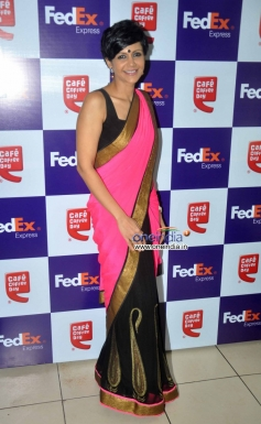 Mandira Bedi Launch the FedEx's Rakhi special offer