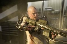 Matt Damon still from Elysium