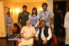 Mohan Babu Family meets Narendra Modi