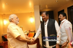 Mohan Babu meets Narendra Modi