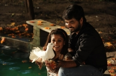 Nayantara and Jai still from Raja Rani