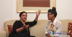 Pooja Bhatt in conversation with Mariam Unoosha the Maldivan singer