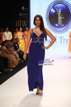 Pooja Misrra walk the ramp for Jewel Trends at IIJW 2013 Day 01
