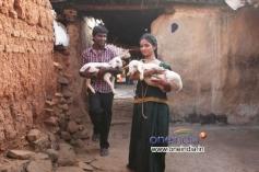 Edwin and Rachana Gowda in Kannada Movie Jeetu