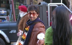 Ranbir Kapoor and Pallavi Sharda still from Besharam