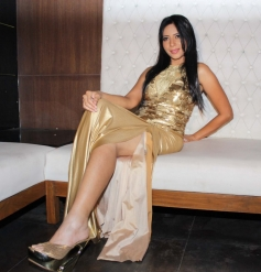 Rozlyn Khan during her 25th Birthday Bash