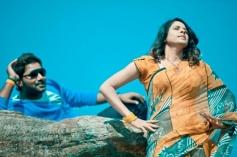 Saradh Reddy and Shraavya Reddy in Telugu Movie Eyy