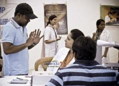Selvaraghavan at Tamil Movie Irandam Ulagam Shooting Spot Still