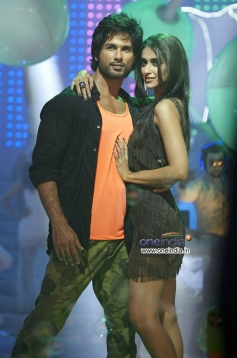 Shahid Kapoor and Ileana D'Cruz still from Phata Poster Nikla Hero