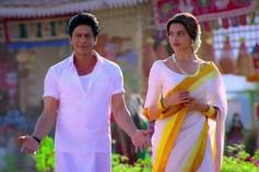 Shahrukh Khan and Deepika Padukone in Traditional Wear