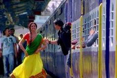 Shahrukh Khan helps Deepika Padukone to catch Train