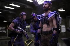 Sharlto Copley stars as Kruger in Elysium