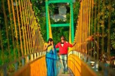 Shraavya Reddy and Saradh Reddy in Telugu Movie Eyy