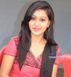 Shravya at Kannada Film Rose Press Meet