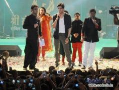 Sidharth Malhotra during Sachin Ahir's Dahi Handi Celebration