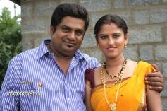 Rangayana Raghu and Sindhu Rao in Kannada Movie Ice Pice