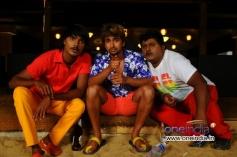 Srikanth, Tarun Chandra and Komal in Kannada Movie Goa