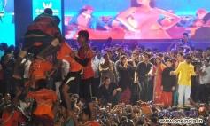 SRK at NACP leader Sachin Ahir's Dahi Handi Celebration