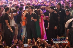 SRK wishes everyone during Sachin Ahir's Dahi Handi Celebration