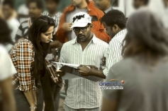Tamil Movie Irandam Ulagam Shooting Spot Still