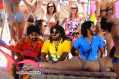 Tarun Chandra, Komal and Srikanth in Kannada Movie Goa