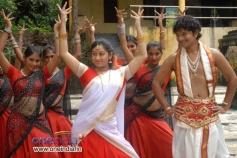 Tejaswini and Rakesh in Kannada Film Nandagokula